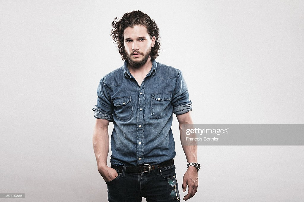 Actor Kit Harington is photographed for Self Assignment on July 9th, 2015 in Paris, France.