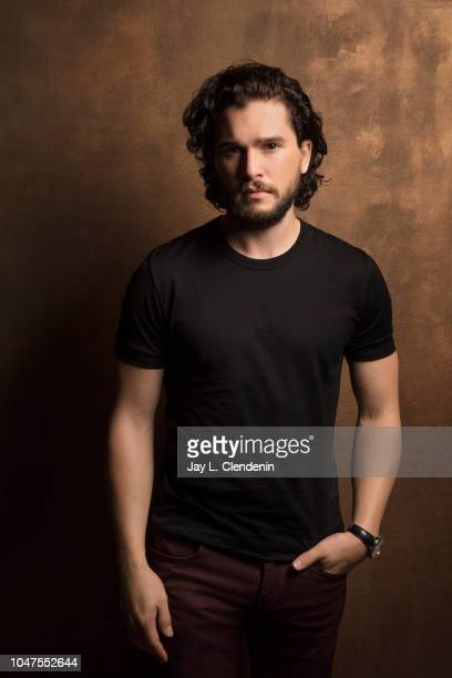Actor Kit Harrington from 'The Death and Life of John F Donovan' is photographed for Los Angeles Times on September 9 2018 in Toronto Ontario...