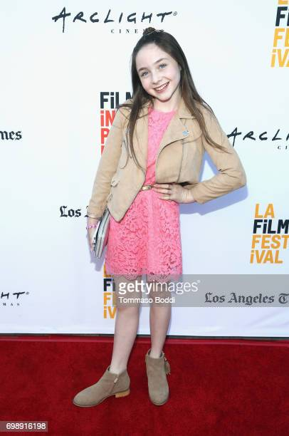 Actor Kitana Turnbull attends the screening of The Bachelors during the 2017 Los Angeles Film Festival at Arclight Cinemas Culver City on June 20...