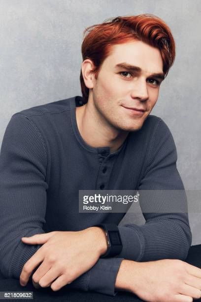 Actor KJ Apa from CW's 'Riverdale' poses for a portrait during ComicCon 2017 at Hard Rock Hotel San Diego on July 22 2017 in San Diego California