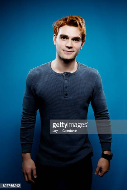 Actor KJ Apa from the television series Riverdale is photographed in the LA Times photo studio at ComicCon 2017 in San Diego CA on July 22 2017...