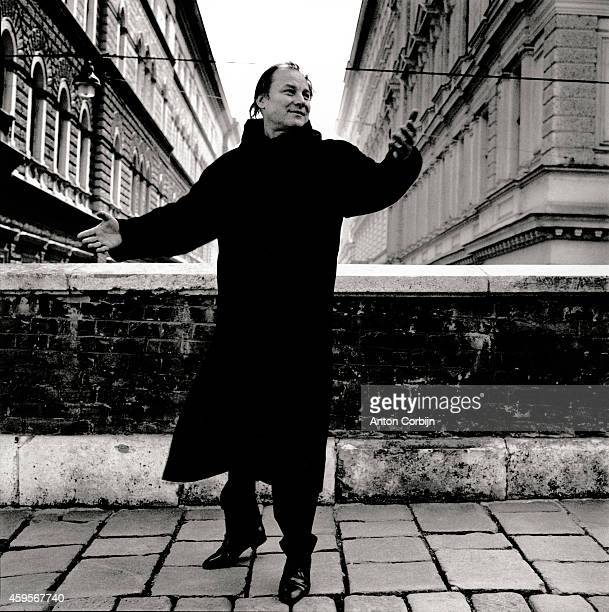 Actor Klaus Maria Brandauer is photographed for Stern Magazine on April 17, 1997 in Vienna, Austria.