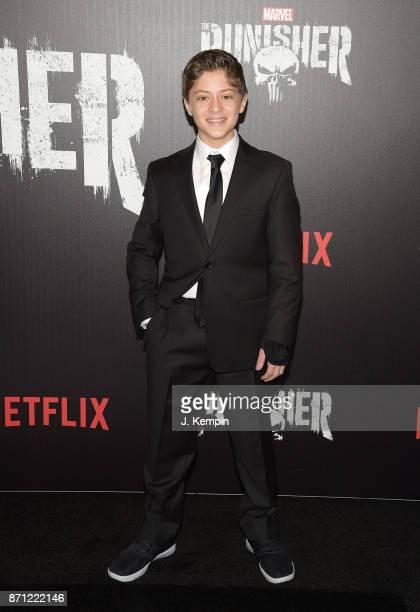 Actor Kobi Frumer attends the 'Marvel's The Punisher' New York Premiere on November 6 2017 in New York City