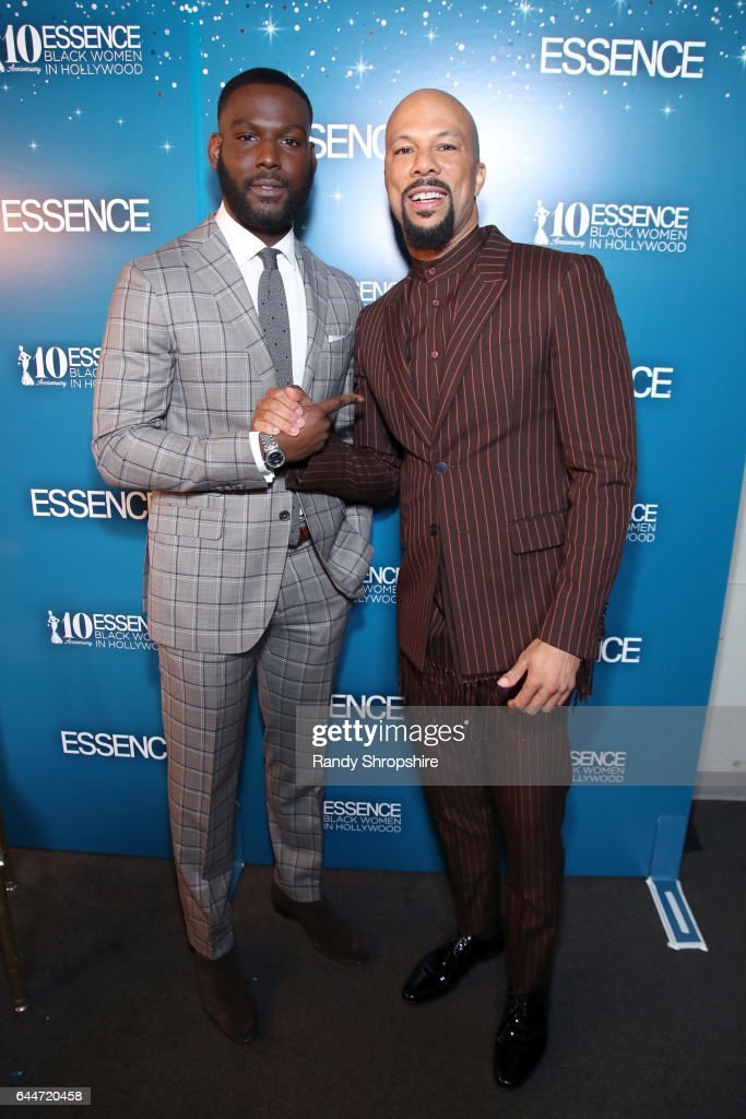 Actor Kofi Siriboe and Common at Essence Black Women in Hollywood Awards at the Beverly Wilshire Four Seasons Hotel on February 23, 2017 in Beverly Hills, California.