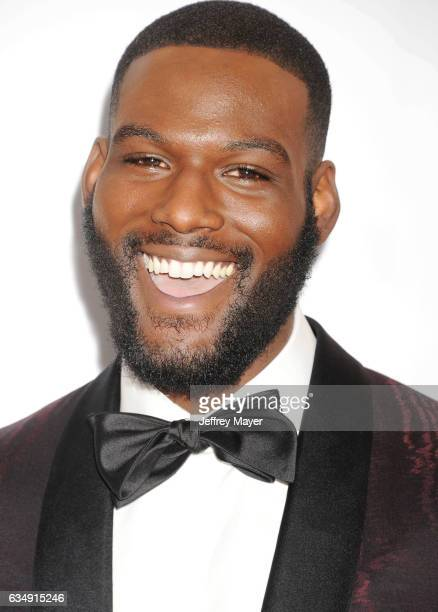 Actor Kofi Siriboe arrives at the 48th NAACP Image Awards at Pasadena Civic Auditorium on February 11 2017 in Pasadena California