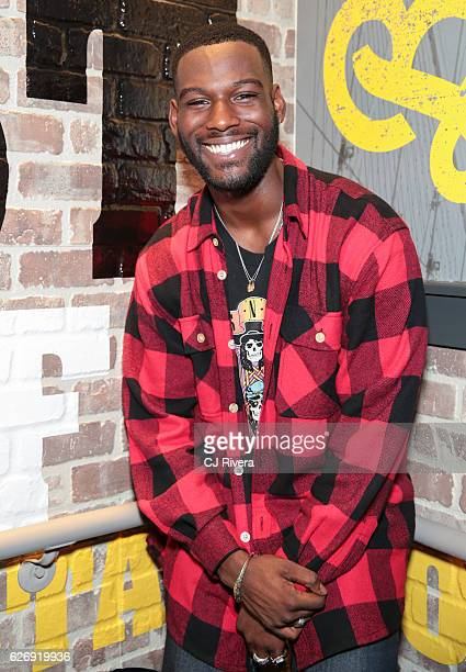 Actor Kofi Siriboe attends 'Queen Sugar' season finale viewing party at Buffalo Wild Wings on November 30 2016 in New York City