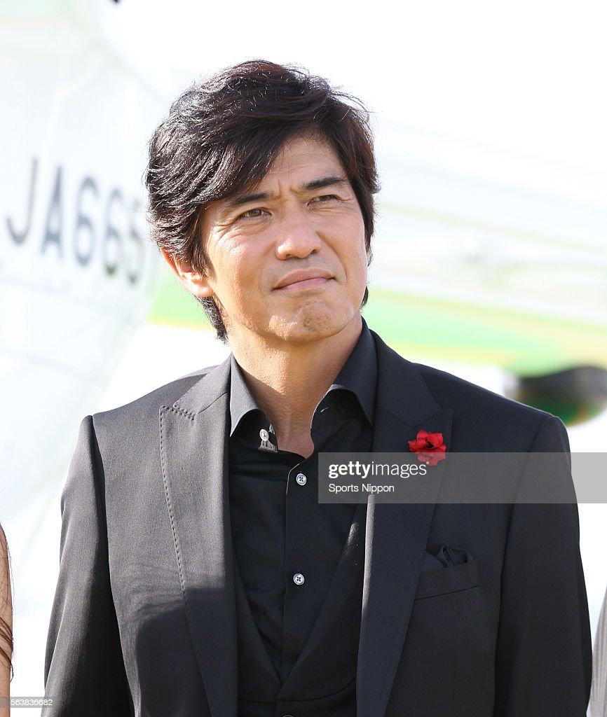 Koichi Sato Attends Press Conference In Tokyo : News Photo