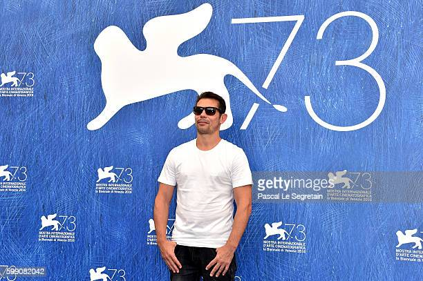 Actor Kool Shen attends the photocall of 'Reparer Les Vivants' during the 73rd Venice Film Festival at Palazzo del Casino on September 4 2016 in...
