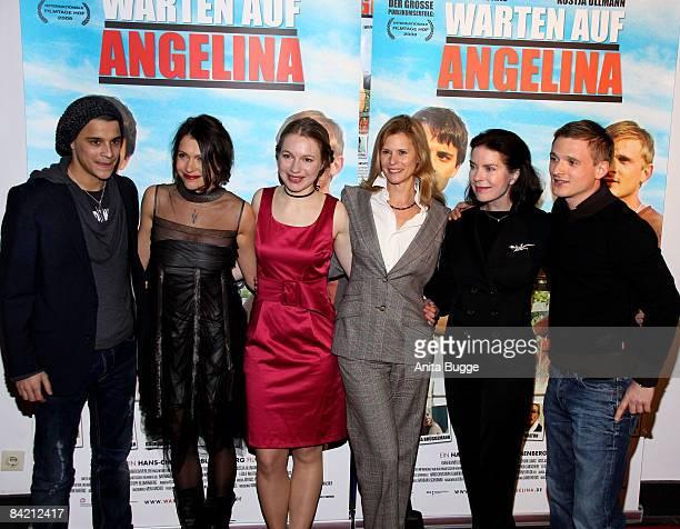 : Actor Kostja Ullmann, actress Jana Pallaske, actress Anna Brueggemann, actress Leslie Malton, actress Gudrun Landgrebe and actor Florian Lukas...