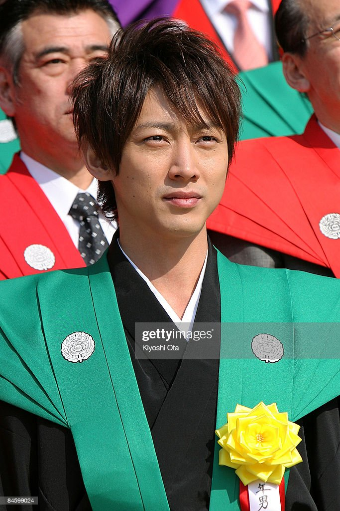 Actor Kotaro Koizumi attends a bean-scattering ceremony at Shinshoji Temple on February 3, 2009 in Narita, Chiba, Japan. The ceremony is held all over Japan on Setsubun which is the name of the day before the beginning of each season, which in this case is on February 3 or 4, one day before the start of spring according to the Japanese lunar calendar. It has been said that throwing beans drives out misfortune and brings in good luck.