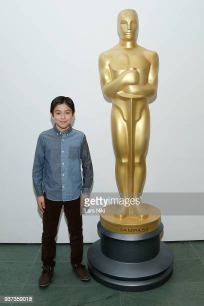 Actor Koyu Rankin attends The Academy of Motion Picture Arts Sciences Official Academy Screening of Isle of Dogs at the MOMA Celeste Bartos Theater...