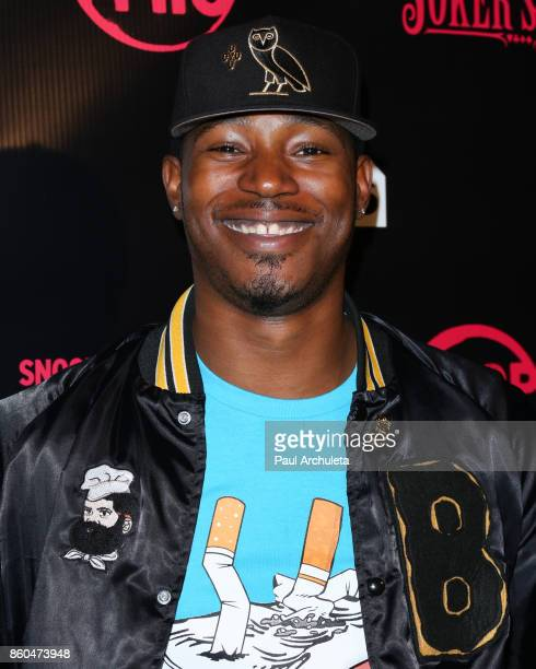 Actor Kris D Lofton attends the premiere for TBS's Drop The Mic and The Joker's Wild at The Highlight Room on October 11 2017 in Los Angeles...