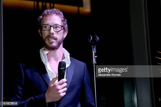 Actor Kris HoldenRied attends the FINCA Canada Fundraiser At TIFF 2012 during the Toronto International Film Festival on September 11 2012 in Toronto...