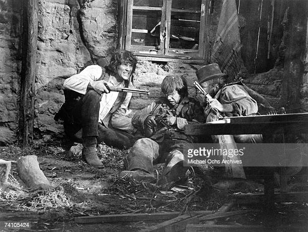Actor Kris Kristofferson performs a scene in the movie Pat Garrett and Billy The Kid directed by Sam Peckinpah