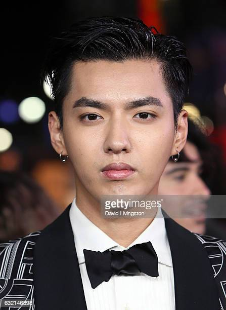 Actor Kris Wu attends the premiere of Paramount Pictures' xXx Return of Xander Cage at TCL Chinese Theatre IMAX on January 19 2017 in Hollywood...