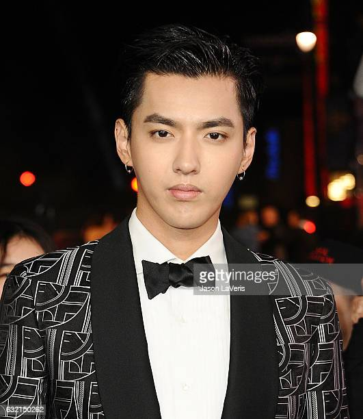 Actor Kris Wu attends the premiere of xXx Return of Xander Cage at TCL Chinese Theatre IMAX on January 19 2017 in Hollywood California