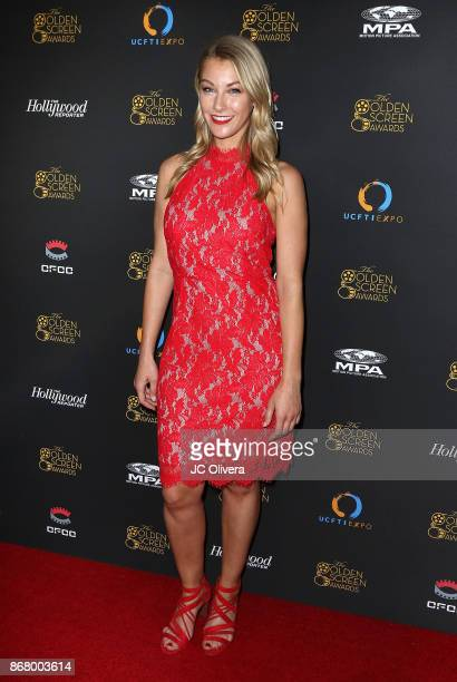 Actor Krista Dane Hoffman attends the 2nd Annual Golden Screen Awards hosted by US China Film and TV Industry Expo at The Novo by Microsoft on...