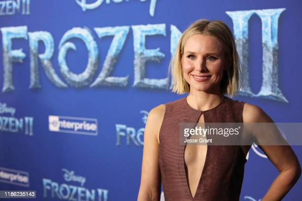 Actor Kristen Bell attends the world premiere of Disney's Frozen 2 at Hollywood's Dolby Theatre on Thursday November 7 2019 in Hollywood California