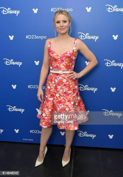 Actor Kristen Bell of OLAF'S FROZEN ADVENTURE took part today in the Walt Disney Studios animation presentation at Disney's D23 EXPO 2017 in Anaheim...
