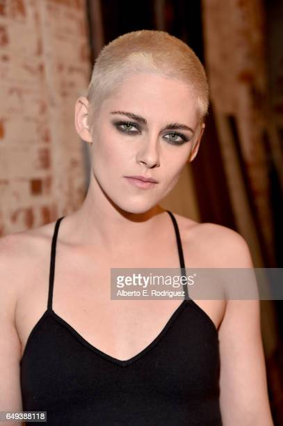 Actor Kristen Stewart at the Flux and Cinefamily Hosted Premiere of IFC Films' PERSONAL SHOPPER at The Carondelet House on March 7, 2017 in Los...