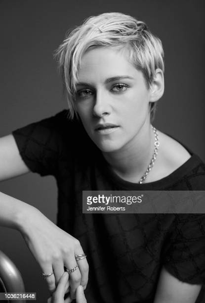 Actor Kristen Stewart from the film 'Jeremiah Terminator LeRoy' poses for a portrait during the 2018 Toronto International Film Festival at...