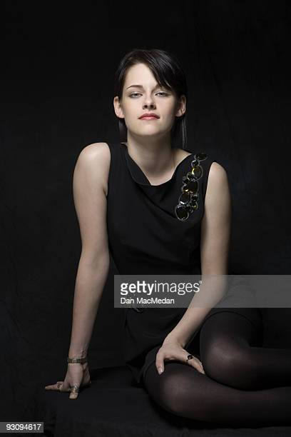 Actor Kristen Stewart poses for a portrait at the Four Seasons hotel in Los Angeles CA November 6 2009 Published image