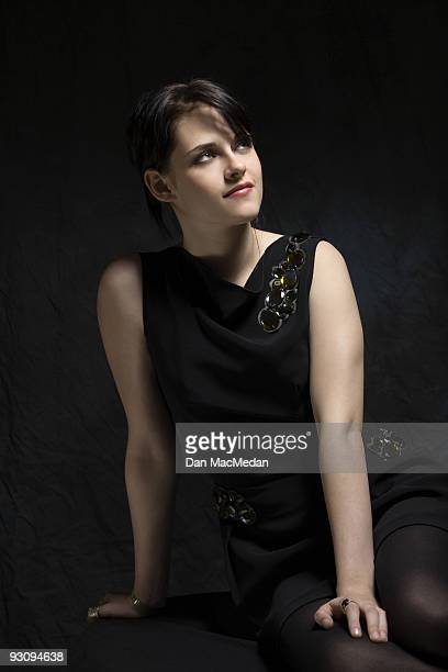 Actor Kristen Stewart poses for a portrait at the Four Seasons hotel in Los Angeles CA November 6 2009