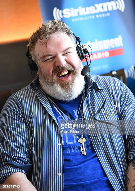 Actor Kristian Nairn attends SiriusXM's Entertainment Weekly Radio Channel Broadcasts From ComicCon 2016 at Hard Rock Hotel San Diego on July 22 2016...