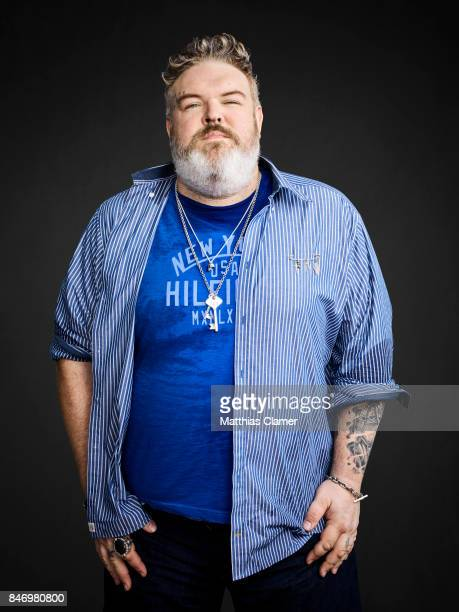 Actor Kristian Nairn from 'Game of Thrones' is photographed for Entertainment Weekly Magazine on July 22 2016 at Comic Con in the Hard Rock Hotel in...
