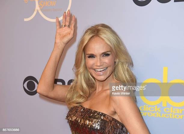 Actor Kristin Chenoweth attends CBS' 'The Carol Burnett Show 50th Anniversary Special' at CBS Televison City on October 4 2017 in Los Angeles...