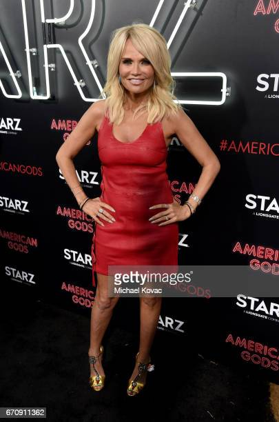Actor Kristin Chenoweth attends the American Gods premiere at ArcLight Hollywood on April 20 2017 in Los Angeles California
