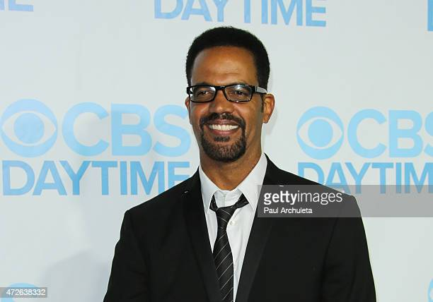 Actor Kristoff St John attends the CBS Daytime Emmy after party at The Hollywood Athletic Club on April 26 2015 in Hollywood California
