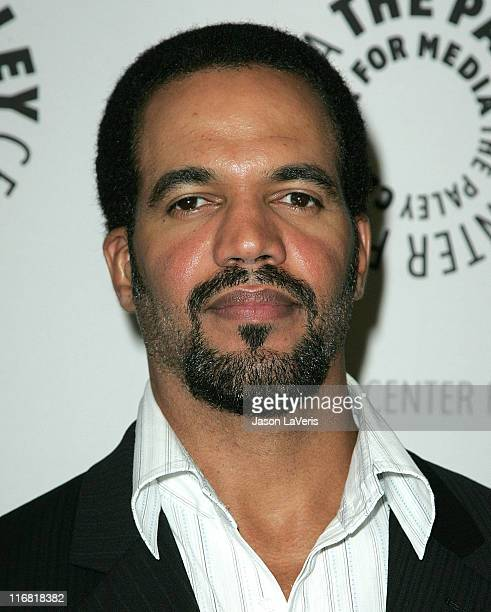 Actor Kristoff St John attends the Young and the Restless 35th Anniversary at the Paley Center on April 10 2008 in Beverly Hills California