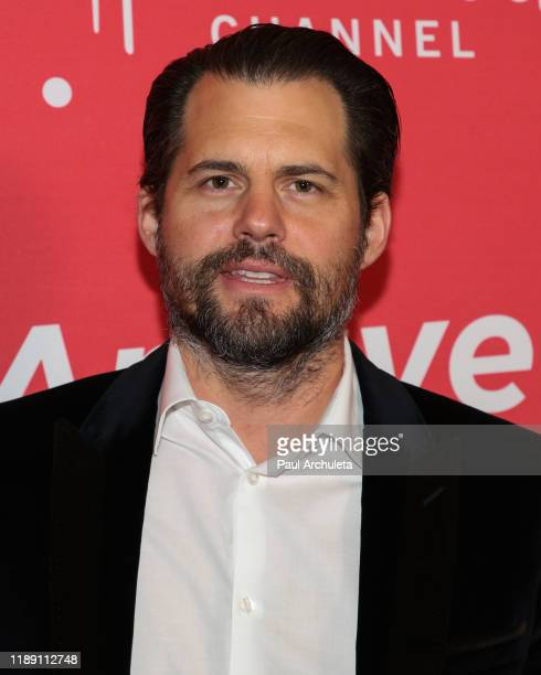 Actor Kristoffer Polaha attends Hallmark Channel's 10th Anniversary of Countdown To Christmas screening and party at 189 by Dominique Ansel on...