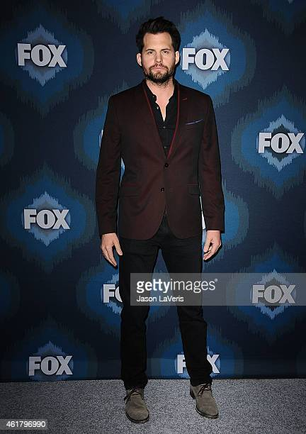 Actor Kristoffer Polaha attends the FOX winter TCA AllStar party at Langham Hotel on January 17 2015 in Pasadena California