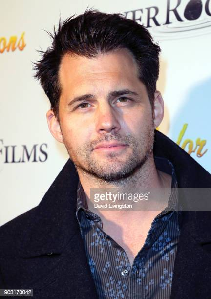 Actor Kristoffer Polaha attends the premiere of Bachelor Lions at ArcLight Hollywood on January 9 2018 in Hollywood California