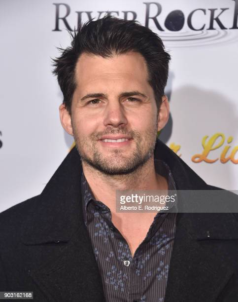 Actor Kristoffer Polaha attends the premiere of RiverRock Films' Bachelor Lions at The ArcLight Hollywood on January 9 2018 in Hollywood California