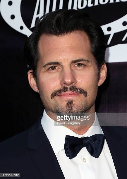Actor Kristoffer Polaha attends the premiere of Roadside Attractions' Godspeed Pictures' Where Hope Grows at ArcLight Cinemas on May 4 2015 in...