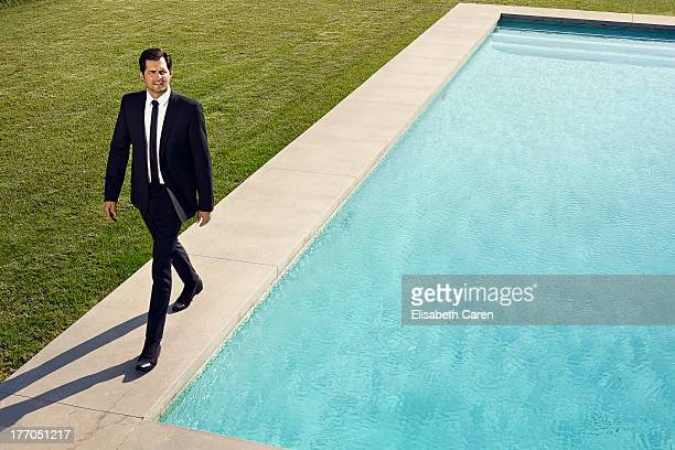 Actor Kristoffer Polaha is photographed for Self Assignment on May 10 2013 in Los Angeles California