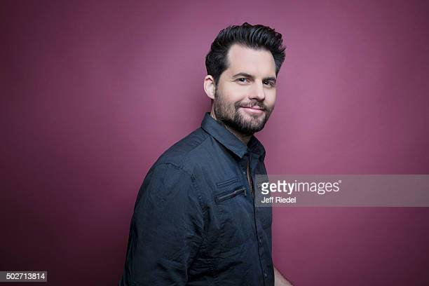 Actor Kristoffer Polaha is photographed for TV Guide Magazine on January 17 2015 in Pasadena California
