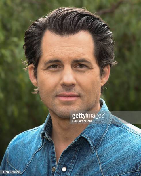 Actor Kristoffer Polaha visits Hallmark Channel's Home Family at Universal Studios Hollywood on December 18 2019 in Universal City California