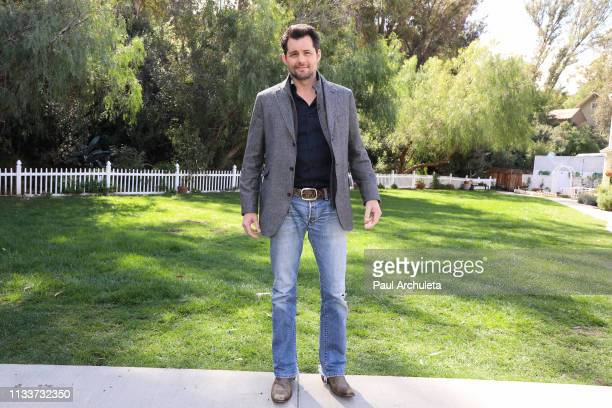 Actor Kristoffer Polaha visits Hallmark's Home Family at Universal Studios Hollywood on March 04 2019 in Universal City California