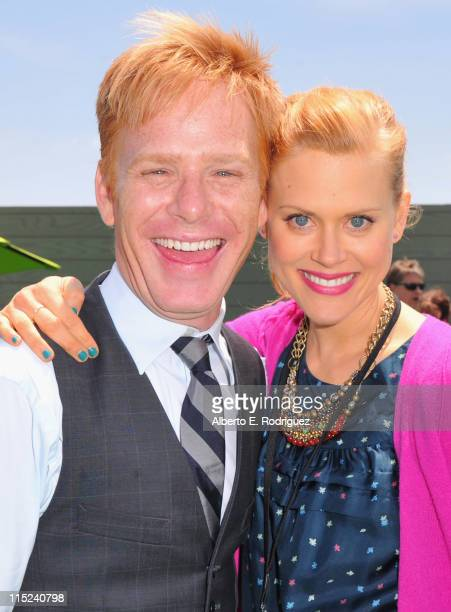 Actor Kristoffer Ryan Winters and actress Janet Varney attends the after party for the premiere of Relativity Media's Judy Moody And The NOT Bummer...