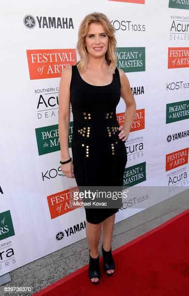 Actor Kristy Swanson attends the Festival of Arts Celebrity Benefit Event on August 26, 2017 in Laguna Beach, California.