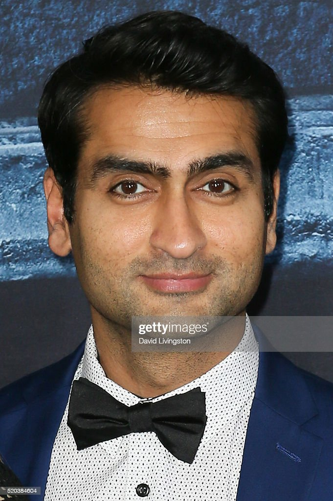 Actor Kumail Nanjiani arrives at the premiere of HBO's 'Game of Thrones' Season 6 at the TCL Chinese Theatre on April 10, 2016 in Hollywood, California.