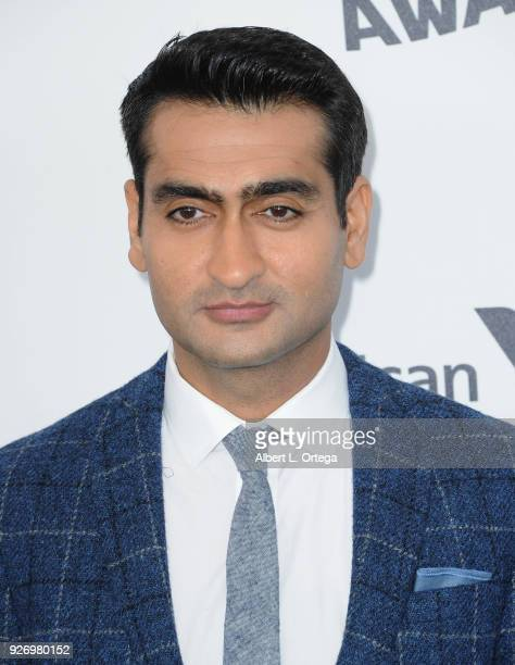 Actor Kumail Nanjiani arrives for the 2018 Film Independent Spirit Awards on March 3 2018 in Santa Monica California