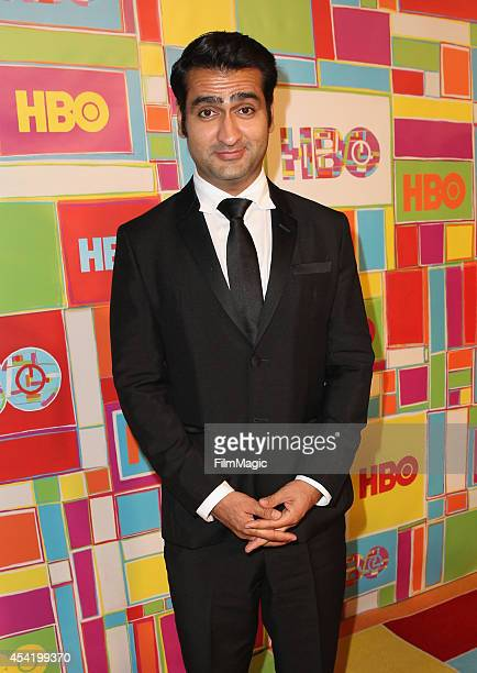 Actor Kumail Nanjiani attends HBO's Official 2014 Emmy After Party at The Plaza at the Pacific Design Center on August 25 2014 in Los Angeles...