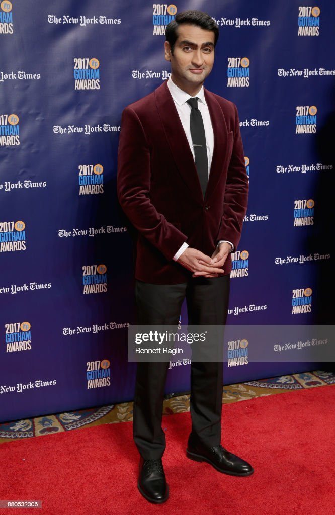 Actor Kumail Nanjiani attends the 2017 Gotham Awards sponsored by Greater Ft. Lauderdale Tourism at Cipriani, Wall Street on November 27, 2017 in New York City.