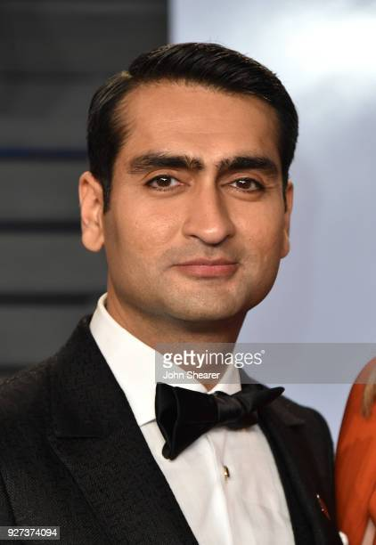 Actor Kumail Nanjiani attends the 2018 Vanity Fair Oscar Party hosted by Radhika Jones at Wallis Annenberg Center for the Performing Arts on March 4...