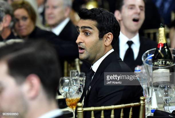 Actor Kumail Nanjiani attends The 23rd Annual Critics' Choice Awards at Barker Hangar on January 11 2018 in Santa Monica California